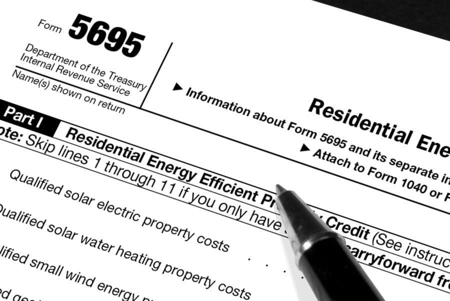 Solar Tax Form
